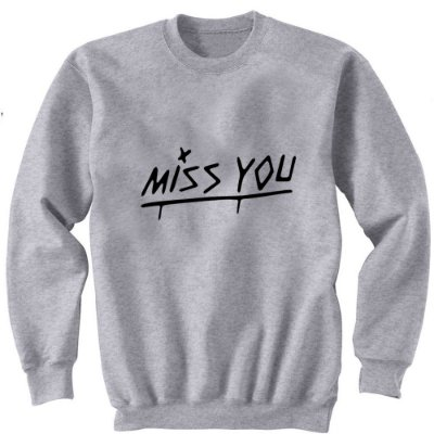 Moletom Louis Tomlinson – Miss You – Frente