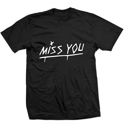 Camiseta Louis Tomlinson – Miss You – Frente