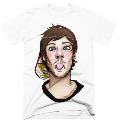 Camiseta One Direction – Louis 2