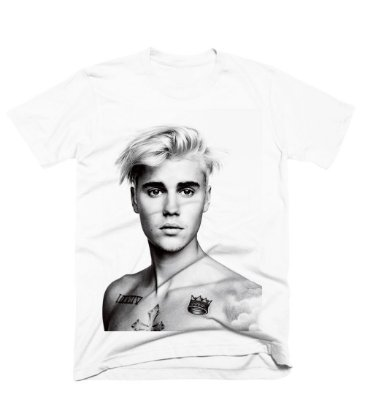 Camiseta Justin i-D Photoshoot 1