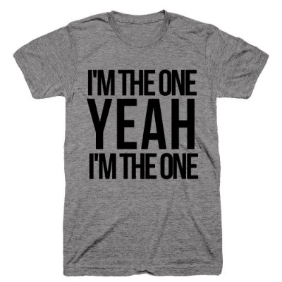 Camiseta Justin Bieber – Im the one 3