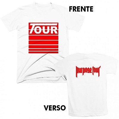 Camiseta Justin Bieber – Stadium Tour 1