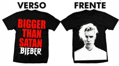 Camiseta Justin Bieber Purpose Tour 3
