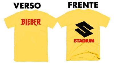 Camiseta Justin Bieber – Purpose Stadium