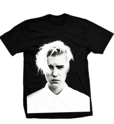 Camiseta Justin Purpose Tour 4