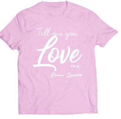 Camiseta Demi Lovato – Tell Me 2