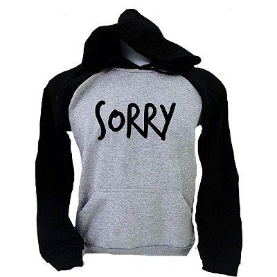 Moletom Raglan Justin Bieber – Sorry