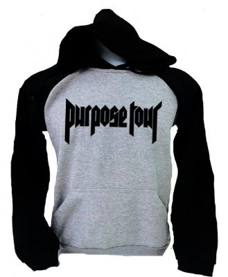 Moletom Raglan Purpose Tour
