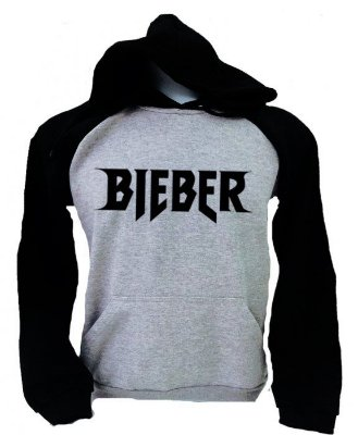 Moletom Raglan – Bieber