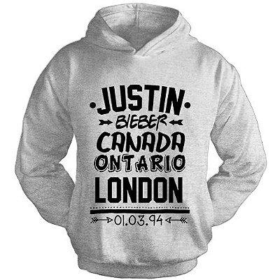 Moletom Justin Bieber – Niver