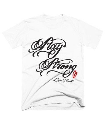 Camiseta Demi Lovato Stay Strong