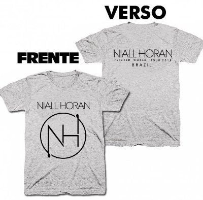 Camiseta Niall Horan – Flicker Tour -02
