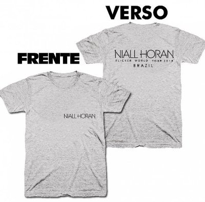Camiseta Niall Horan – Flicker Tour – 04