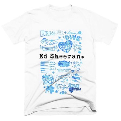 Camiseta Ed Sheeran 3