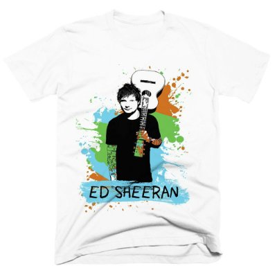 Camiseta Ed Sheeran 8