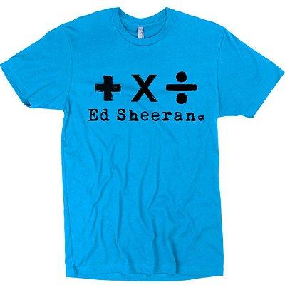 Camiseta Ed Sheeran – Álbuns