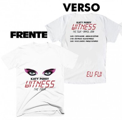 Camiseta Katy Perry – Witness 3