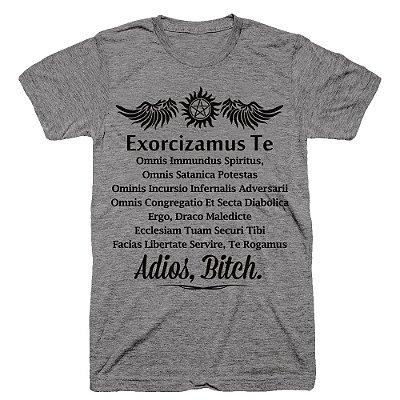 Camiseta SuperNatural – Exorcizamus Te