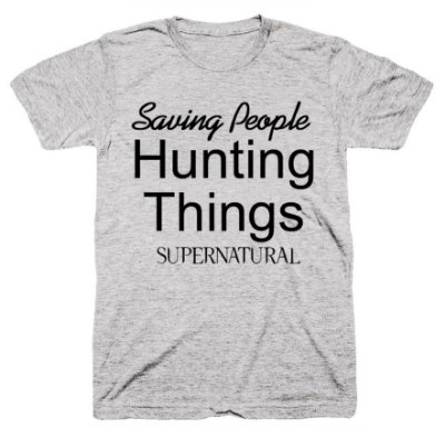 Camiseta SuperNatural – Saving People