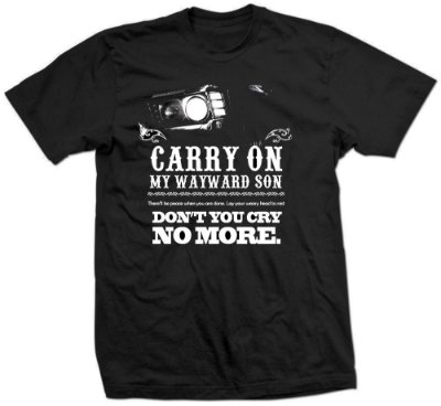 Camiseta Supernatural – Carry On