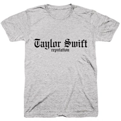 Camiseta Taylor Swift – Reputation – Logo