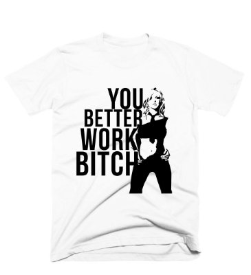 Camiseta Britney Work Bitch