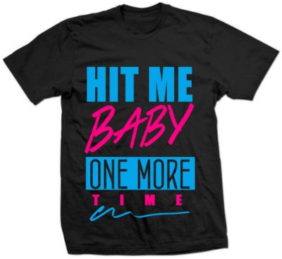 Camiseta Britney Hit Me Baby Color