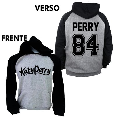 Moletom Raglan Team Katy Perry