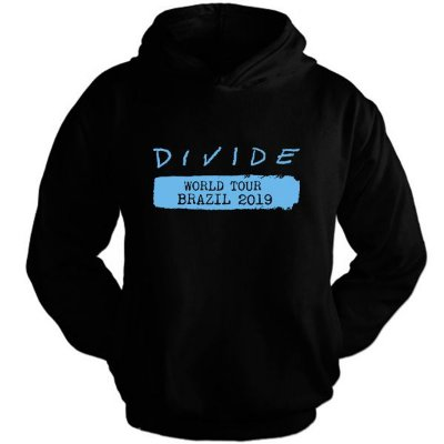 Moletom Ed Sheeran – Divide Tour – Estampa Azul