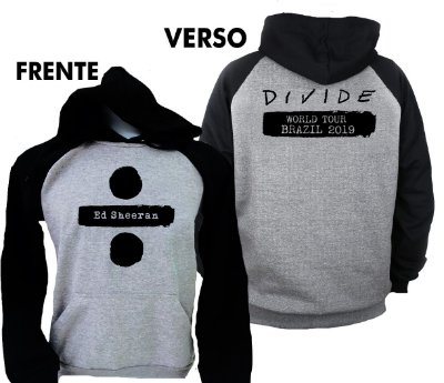 Moletom Raglan Ed Sheeran – Divide Tour 2