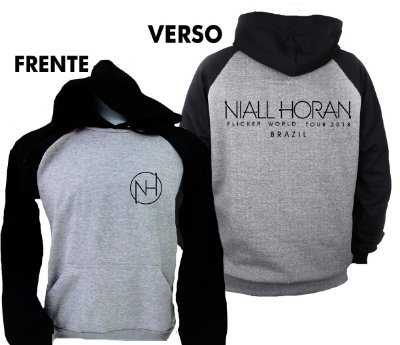 Moletom Niall Horan Raglan – Flicker Tour 4