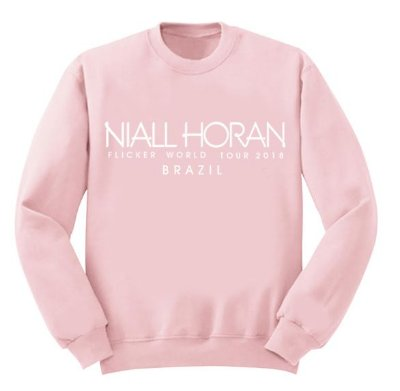 Moletom Rosa Niall Horan – Flicker Tour 2