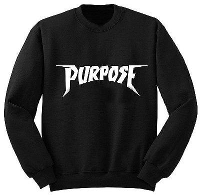 Moletom Justin – Purpose