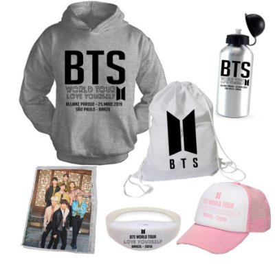 Kit BTS World Tour 2