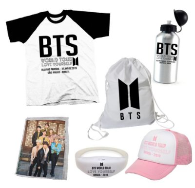 Kit BTS World Tour 5