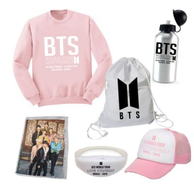 Kit BTS World Tour 4