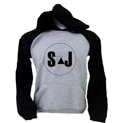 Moletom Raglan Sandy e Junior - Logo 2