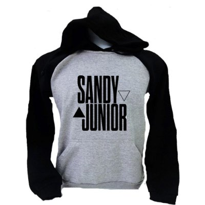 Moletom Raglan Sandy e Junior