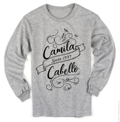 Manga Longa Camila Cabello – Modelo 5