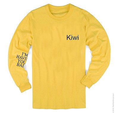 Camiseta Manga Longa – Harry Styles – Kiwi