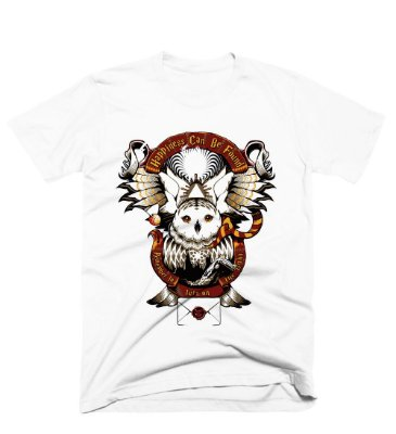 Camiseta Harry Potter -Edwiges