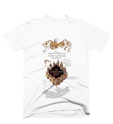 Camiseta Harry Potter – Mapa do Maroto