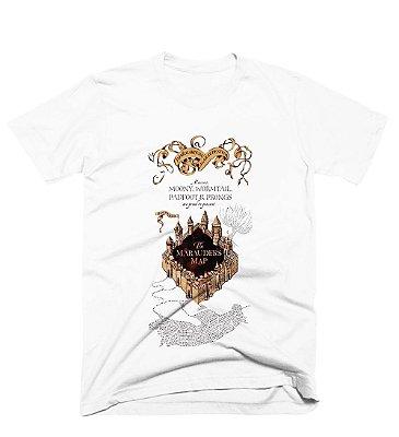 Camiseta Harry Potter – Mapa do Maroto