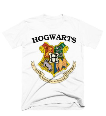 Camiseta Harry Potter – Hogwarts Logo