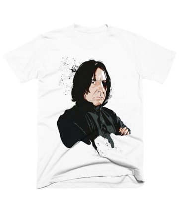 Camiseta Harry Potter -Severo Snap Cartoon