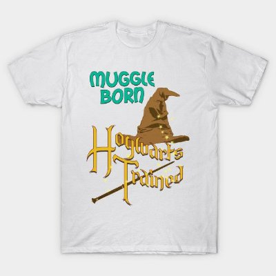 Camiseta Harry Potter – Muggle Born