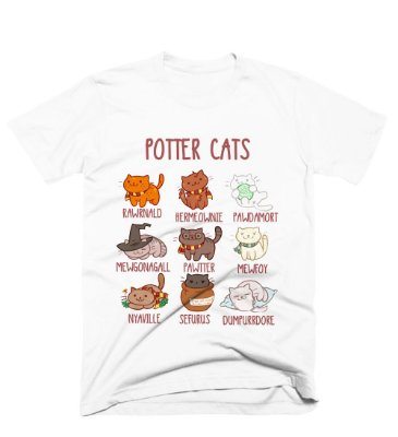 Camiseta Harry Potter – Cats