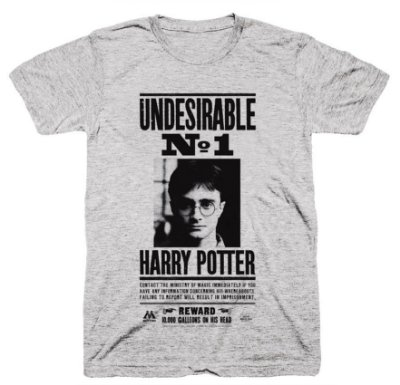 Camiseta Harry Potter – Procurado