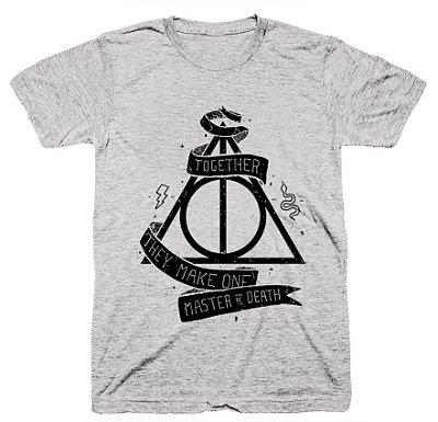 Camiseta Harry Potter – Relíquias da Morte