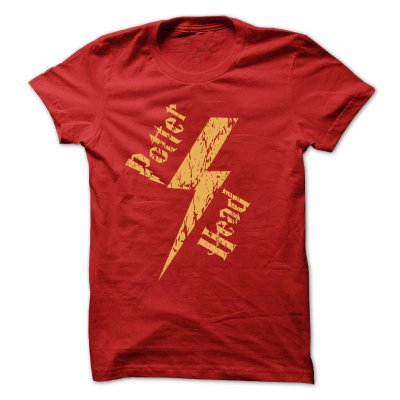 Camiseta Harry Potter – PotterHead Raio